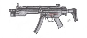 HK Mp5 A3 by CzechBiohazard