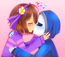 Skeleton Kisses by Vanilla--Shake