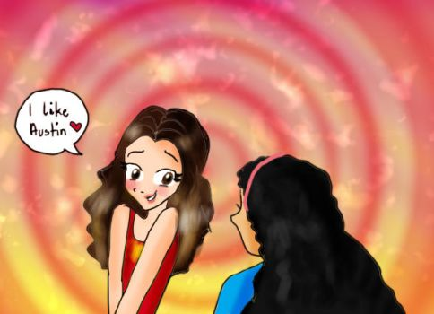 Ally likes Austin by LittleZing