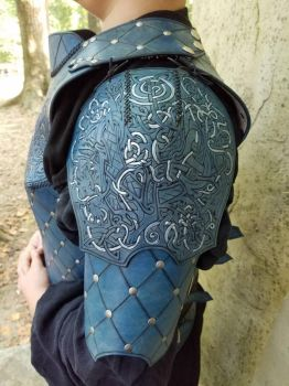 Norse Wolf Armor 3 by AThousandRasps