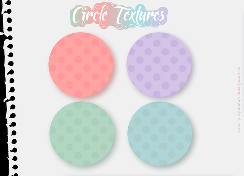 +Circle Textures   Pack #OO1 by AsianEditions