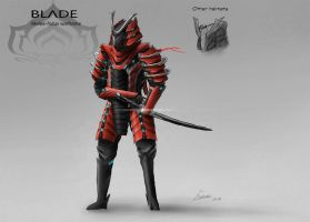 warframe concept art - blade by nobody00000000