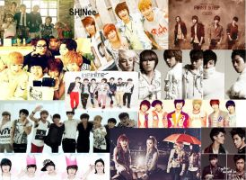 My Favorite Kpop Groups by ShineeWorld58