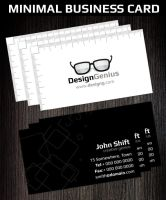 Minimal Creative Business Card by Hotpindesigns