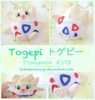 Togepi Keychain Plush by HidamariNoAya