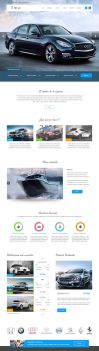 Landing Page - Rent/Sell/Buy Cars by aeli9