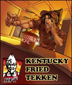 Kentucky Fried Tekken by lost-tyrant