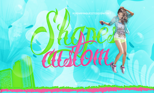 SHAPES CUSTOM | PACK FORMAS PERSONALIZADAS. by Romina-panquesito