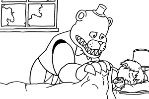 Fnaf 2 Fixed Mangle Free Coloring Pages