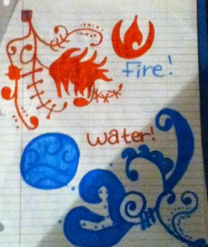 Fire and Water! by forgottenwaterbender