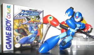 -X Cover Shoot- MegaMan Xtreme (updated) by Nin10doNerd