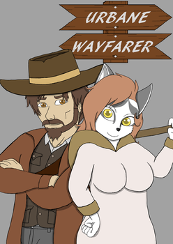 Urbane Wayfarer Comic Cover 1 by FirebirdPhoenix87