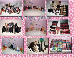 my cosmetic collection by amirajuli