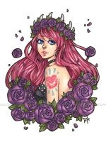 roses and thorns +VIDEO by pencil-butter