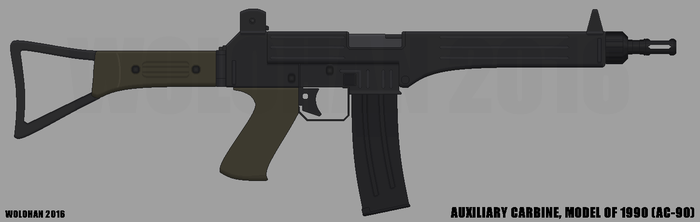Auxiliary Carbine Model of 1990 by Wolohan2011