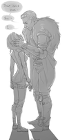 Lavellan and Cullen pt.2 by EtherealEdged