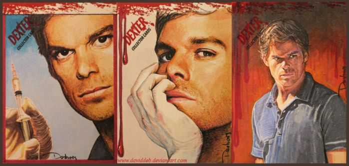 Dexter -SDCC Collector Cards by DavidDeb