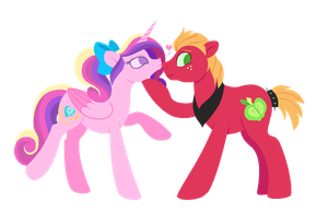 Heart Shaped Apples by CarouselUnique