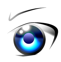 Practice drawing an eye by NSMBXomega