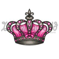 Queens Crown Tattoo by imaginaworld