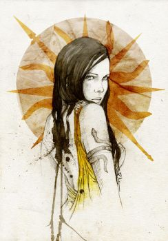 Arianne Martell by elia-illustration