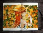 .: Orange is the New Color by Picolo-kun