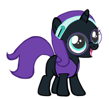 Nyx Disguise by Bronyboy