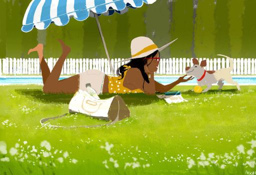 Poolside by PascalCampion