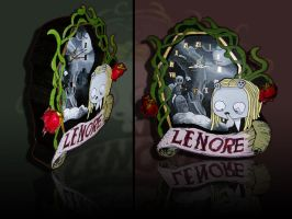 Lenore: Bloody Clock II by mindra