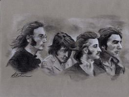 Beatles by AaronRichardson