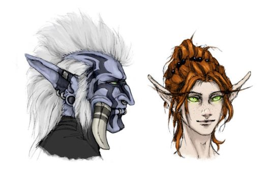 Tzakah and Nayal by lanisaz