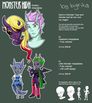 Monster High Mystery Adoptables [CLOSED] by bigrika