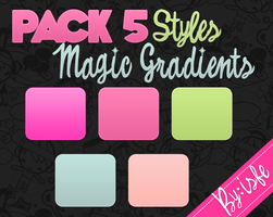 Styles For Photoshop Magic Gradients by Isfe