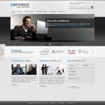 EMPOWER: Free PSD Template by ahmadhania