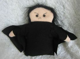 Angry Snape by leloi