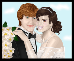 Ron and Hermione get MARRIED by Fefe1414