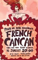 French Cancan by missusrousselee