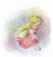 Zelda-messing with colors by Icy-Snowflakes