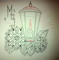 Old School Lamp Design by booders9