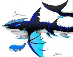 Kaiserus: The Mega Shark Pokemon by Sharktoz