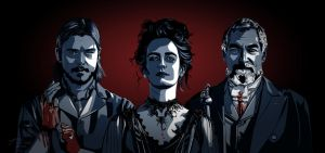 Penny Dreadful screensaver by Inarita