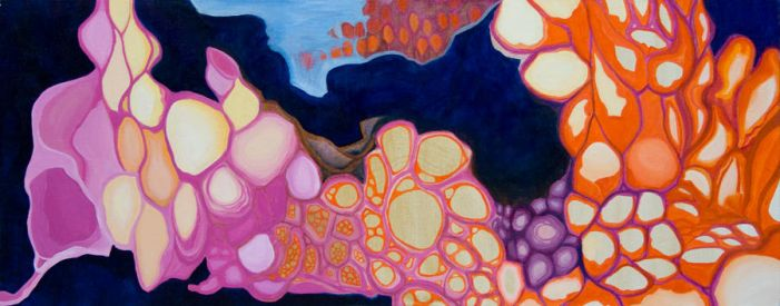 Untitled Cellular Structure by Jessica-Joy