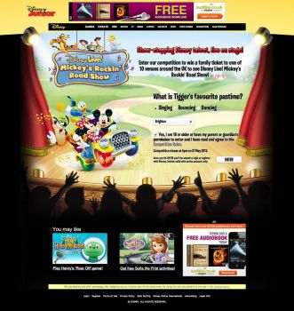Disney Live! Mickey's Rockin' Road Show by ChubbaART