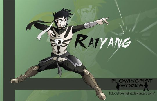 Commision: Raiyang by Flowingfist