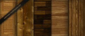 Tileable Light Wood Textures by WebTreatsETC