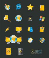 windows icons by mermer