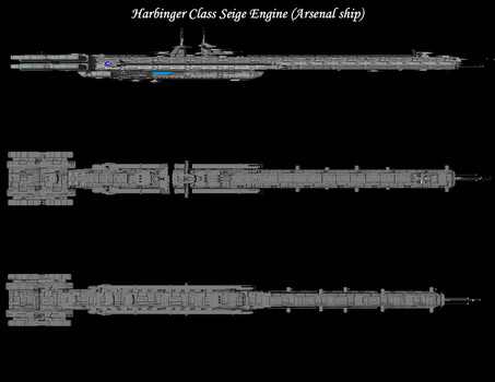 Harbinger class Siege Engine (Arsenal concept) by shayhurs