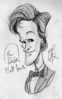 Doctor Matt Smith by splendidriver