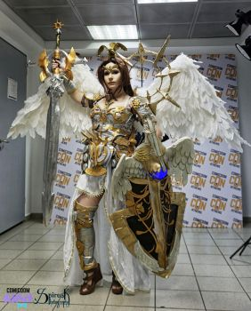 Victoria- Angel of Victory cosplay by 20Tourniquet02