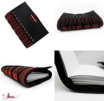 leather journal by K-a-o-r-i